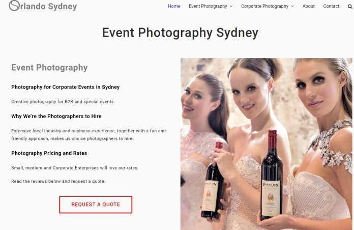 Orlando Sydney Event Photography Review