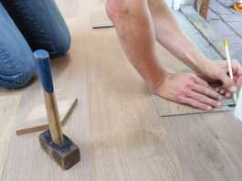 Property renovations floorboard refubishment