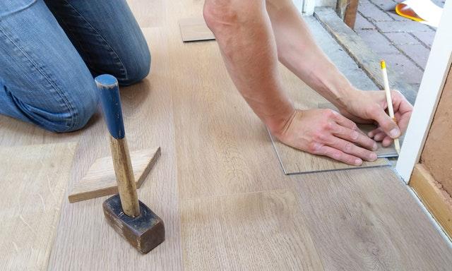 Property renovations floorboard refubishment