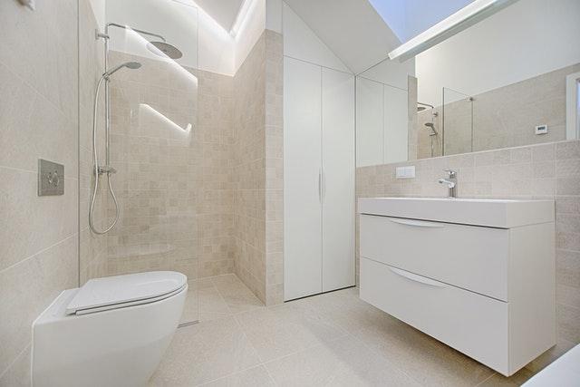 Property renovations interior bathroom design