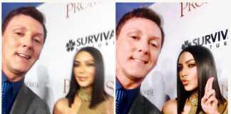 Kim Kardashian taught Sean Borg how to take perfect selfies
