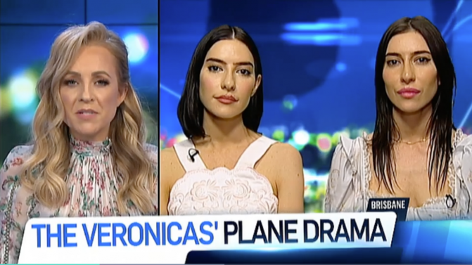 The Project Veronicas interview