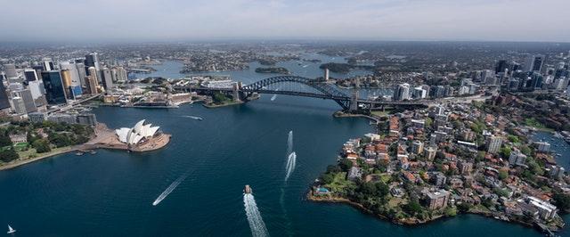 exchange student in Australia travelling Sydney