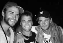 Liam Hemsworth Chris Hemsworth Luke Hemsworth