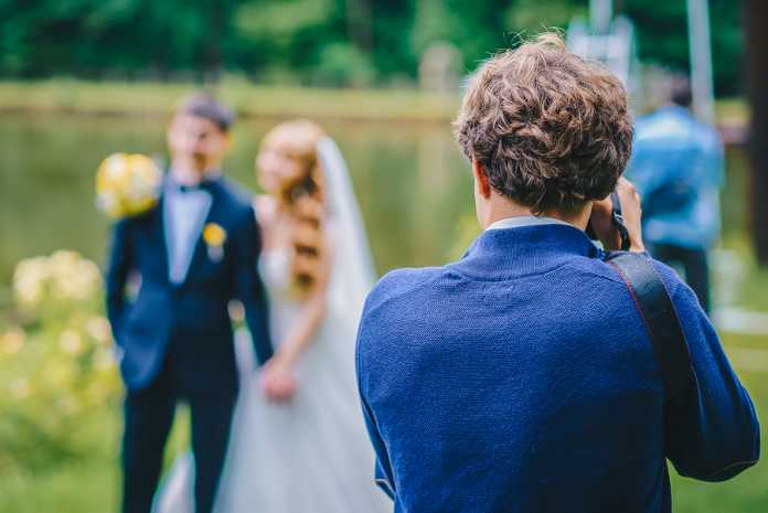Making sure you get the right photographer at your wedding