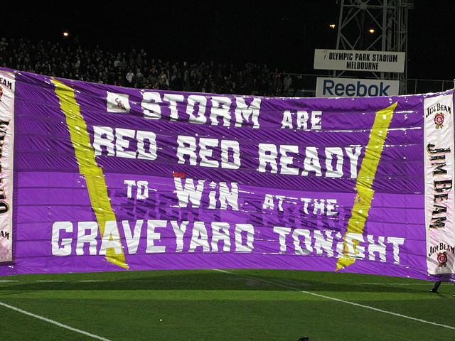 Banner of the Melbourne Storm