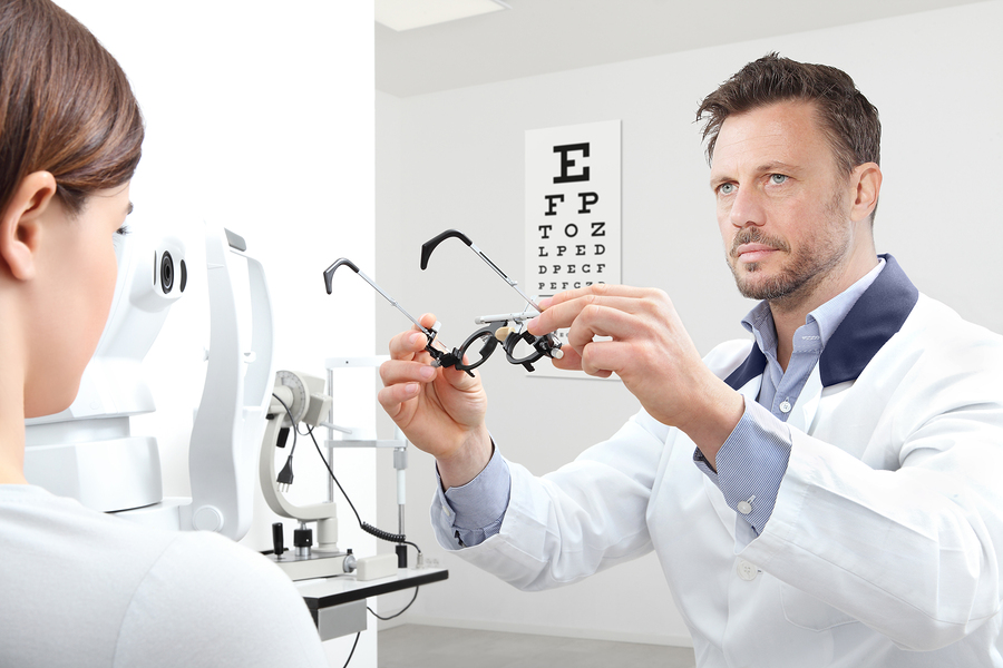 Results of the eye examination