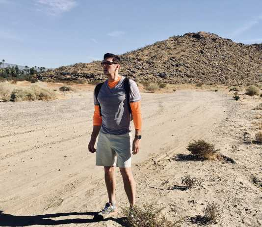 """Palm Springs is the perfect getaway (and place to live) says """"Trivago"""" travel expert Sean Borg"""