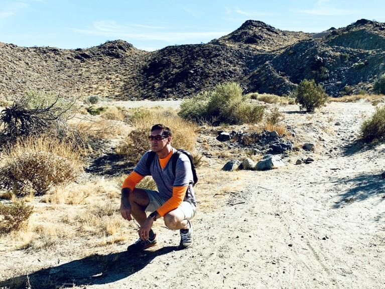 Sean Borg Hiking