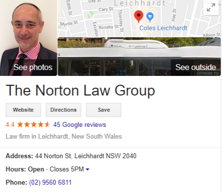 The Norton Law Group Reviews