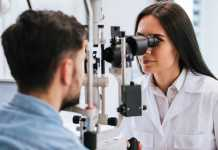 What should you expect from an optician when going for an eye test