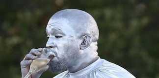 Kanye West Silver