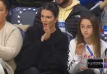 Kendall Jenner, NBA game