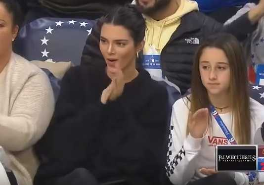 Kendall Jenner, NBA game