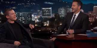 Tom Holland, Jimmy Kimmel