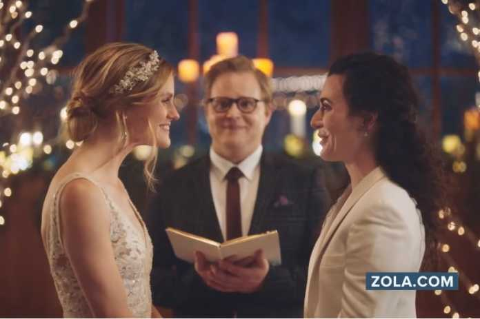 Hallmark apologizes for taking down same-sex wedding ad