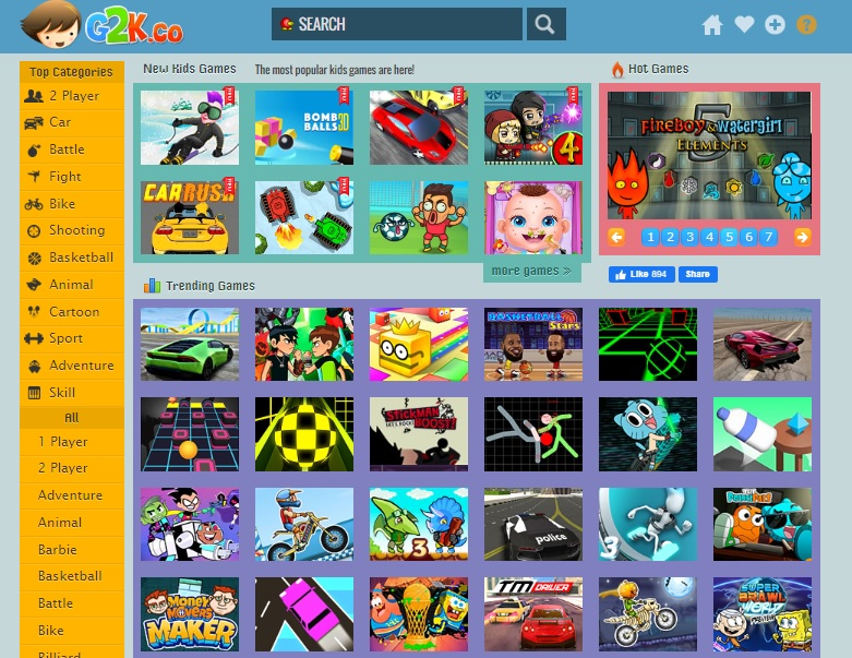 Games 2 Kids - G2K