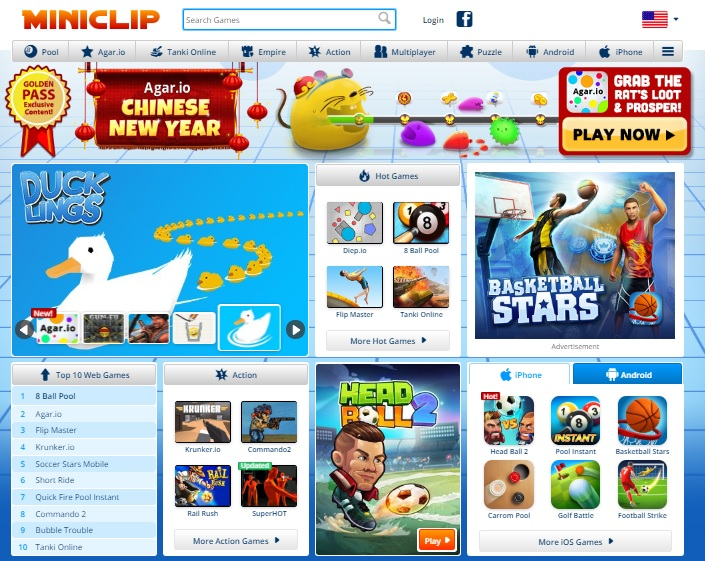 Miniclip the best game for children