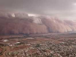 Massive dust storms hit bushfire-battered Australia