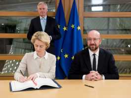 Brexit is official as EU leaders ink UK's withdrawal