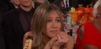 Golden Globes: An adorable Brad Pitt-Jen Aniston moment