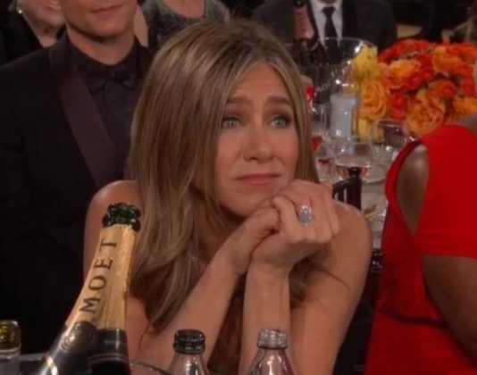 Golden Globes: An adorable Brad Pitt-Jen Aniston moment