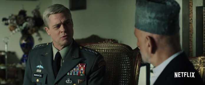 Brad Pitt, War Machine, Netflix