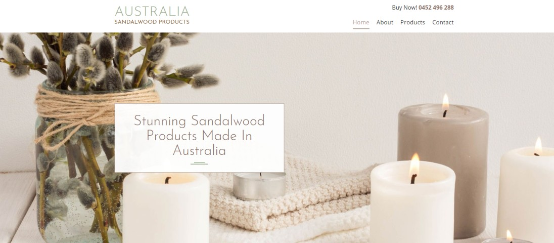 Australia Sandalwood Products