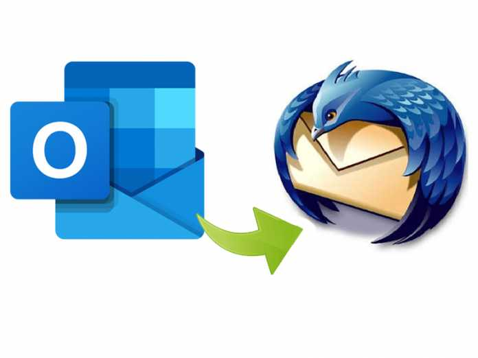 How to transfer emails from Outlook to Thunderbird