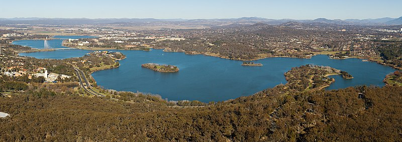 Top 10 Free Things in Canberra ACT Lake Burley Griffin