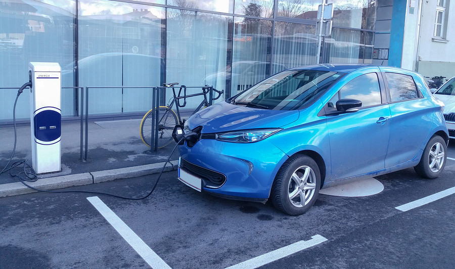 Charging electric car - provider