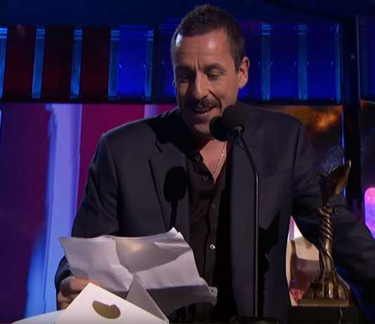 Adam Sandler calls out his Oscars snub at the Spirit Awards