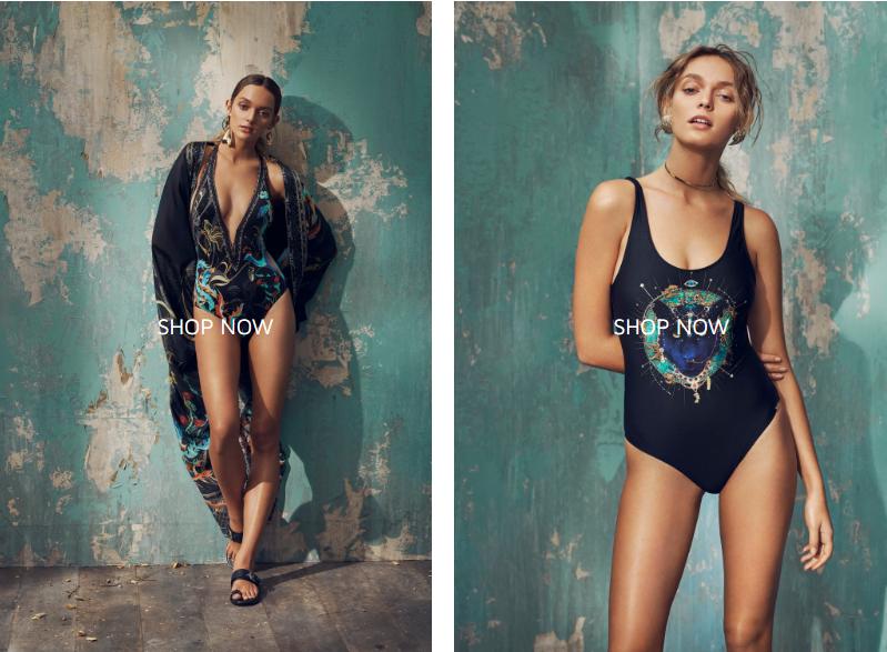 cute designer swimwear