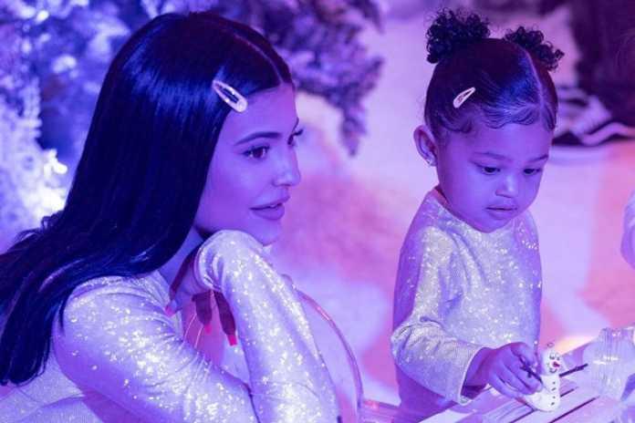 Kylie Jenner on raising Stormi in the public eye