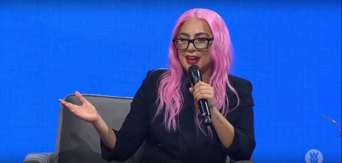 Lady Gaga Proposes to herself