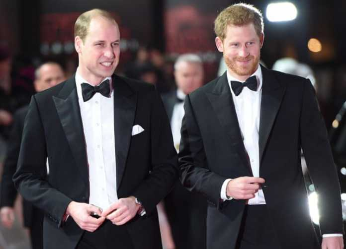 Prince William and Prince Harry make an effort to