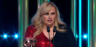 "BAFTAs: Rebel Wilson takes a dig at ""Cats"" box office failure"