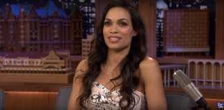 Rosario Dawson Jimmy Fallon Interview