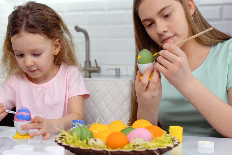 easter Prepare eggs