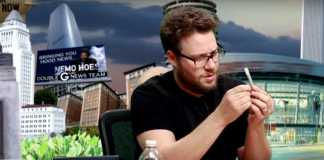 Seth Rogen live-tweets while watching Cats stoned