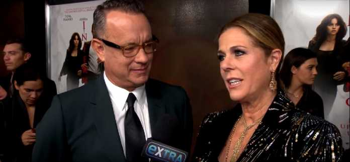Tom Hanks, Rita Wilson, Coronavirus diagnosis