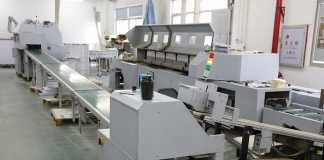 Offset printing machine.