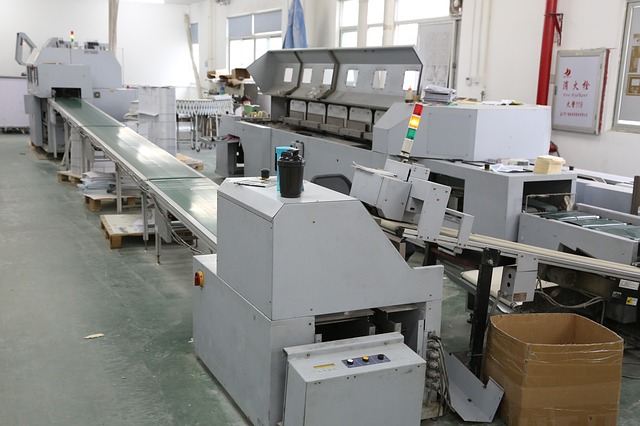 Offset printing machine.