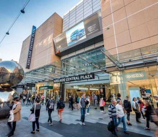 Adelaide Central Plaza Celebrated