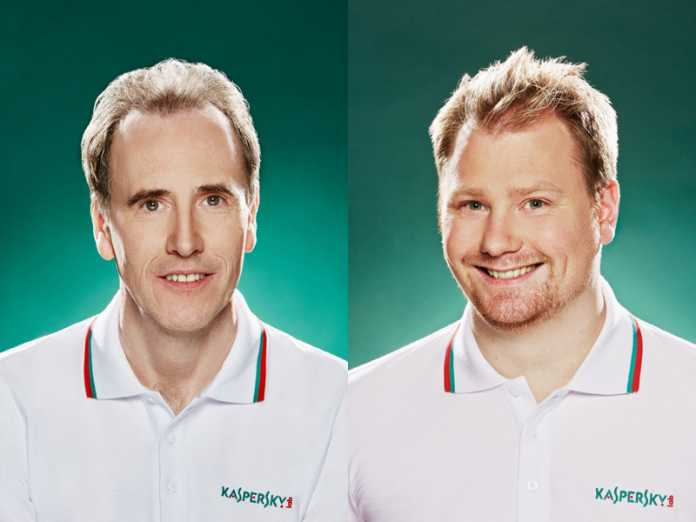 David Emm and David Jacoby Kaspersky
