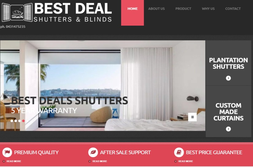 Beat Deal Curtains