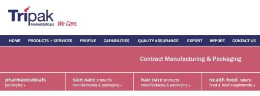 Tripak Pharmaceuticals - Health Supplement Manufacturer