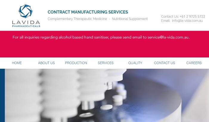 Lavida - Health Supplement Manufacturer