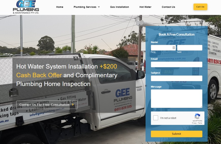 plumbing Parramatta