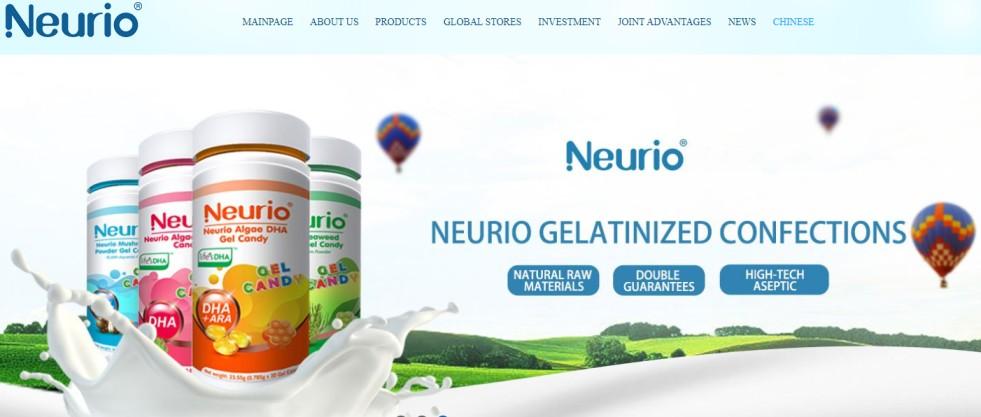 Neurio Formulated Milk Powder with Lactoferrin